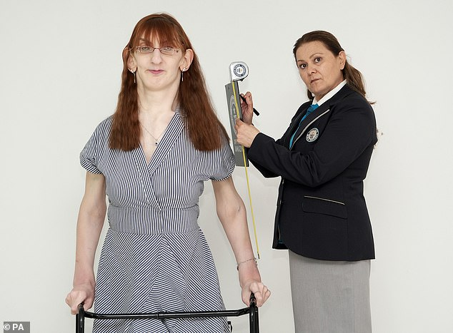 , Turkish woman, 24, standing over 7ft is named the world's tallest woman by Guinness World Records, The Today News USA