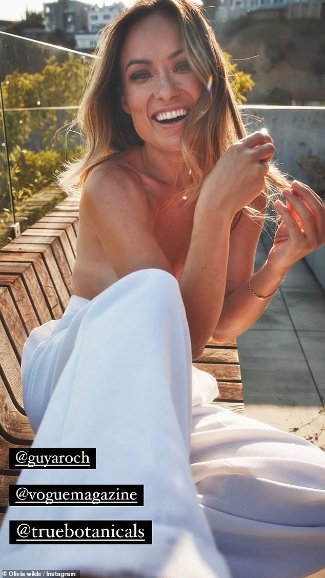 , Olivia Wilde poses topless before going fully NUDE in campaign shots for True Botanicals, The Today News USA