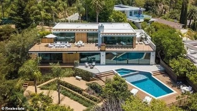 A racing dream: McLaren Formula One driver Daniel Ricciardo has showed off his stunning $18.6million LA mansion