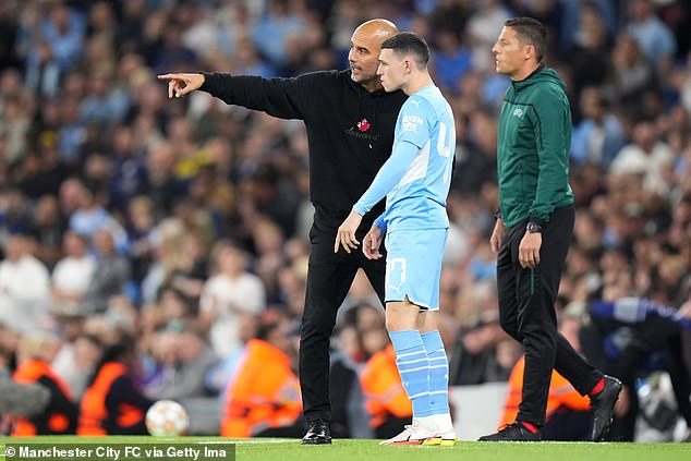 Pep Guardiola once described Foden as the most talented youngster he has seen play
