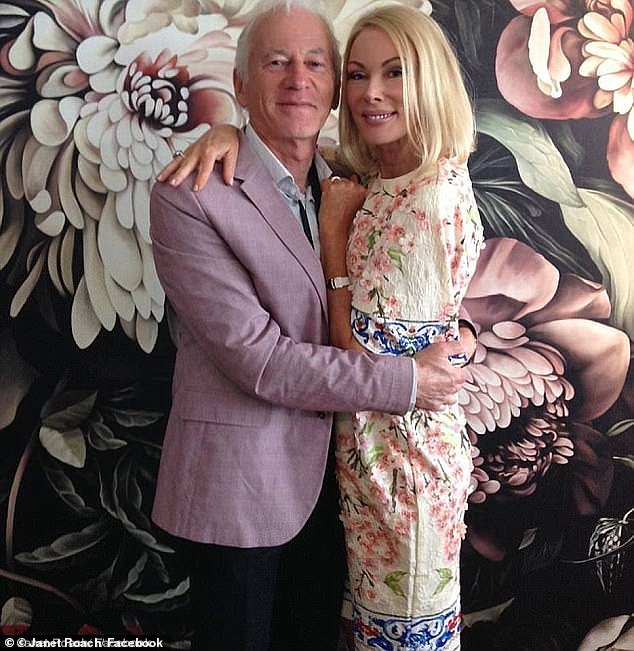 Mr Gance, the co-founder of Chemist Warehouse, and Ms reality TV star Ms Roach broke the record for the hihest price ever paid at auction