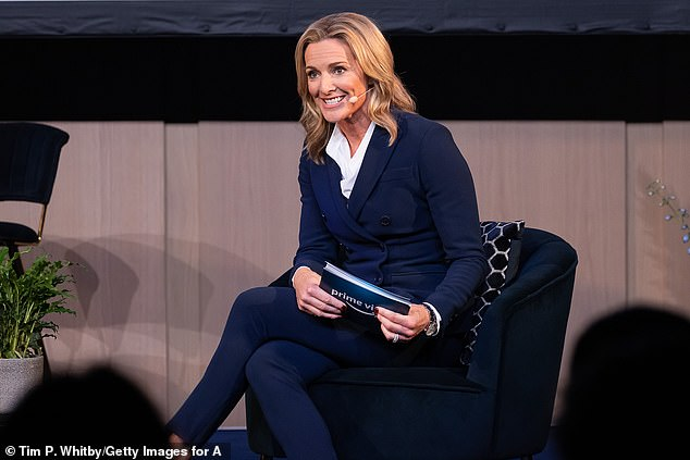 Gabby Logan, Amazon Prime Video sports presenter, quizzed Henry on his social media links