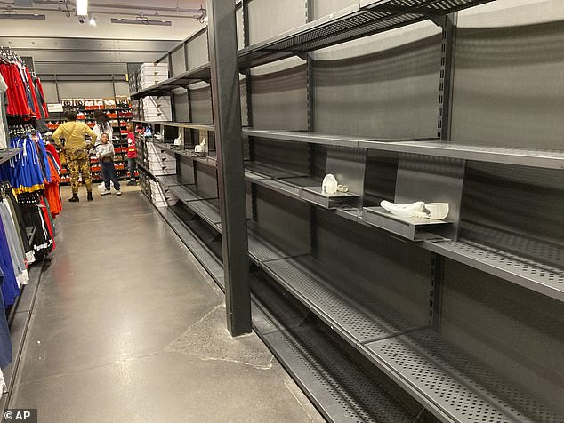 Empty shelves and a supply chain crunch have triggered fears that the holiday season could be hit by shortages across the country as the White House holds crisis talks