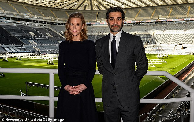 Newcastle's takeover - led by Amanda Staveley (left) - has given them plenty of cash to spend