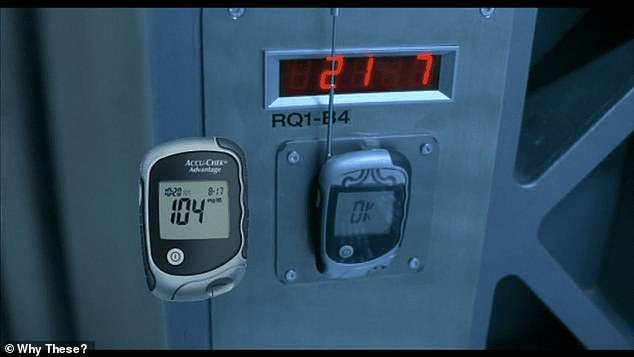 In the Resident Evil franchise, an access code transmitter was actually a glucose metre, one fan claimed