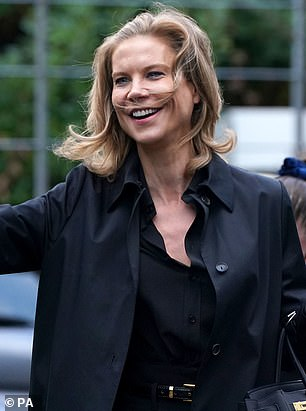 Rodgers¿ name has been part of the conversation among Newcastle¿s new owners (pictured: new Newcastle director Amanda Staveley)