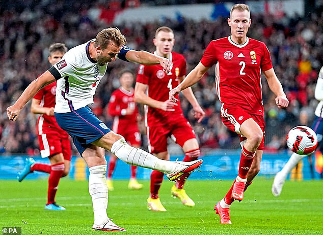 If one of his England competitors up front goes on a silly scoring spree, what then for Kane?