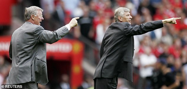 Wenger's passion led to many feuds including with Manchester United boss Ferguson