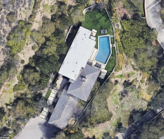 This Chalon Road home was another one of the four neighboring homes, which Musk sold for $21million