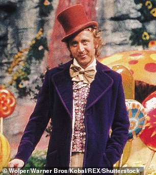 Original: Wilder in character as Willy Wonka