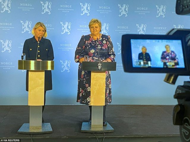 Acting Prime Minister Erna Solberg called the attack 'shocking' and 'gruesome' and said it was too early to determine the shooter's motive