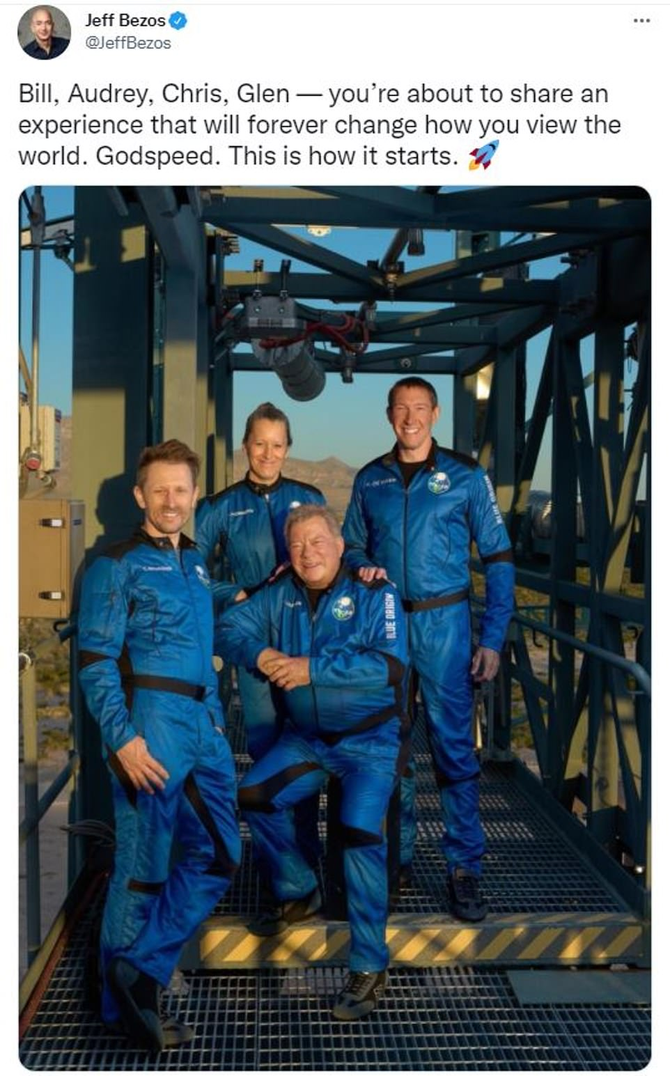 , Blue Origin shares video of an emotional William Shatner in space: 'No description can equal this', Nzuchi Times National News