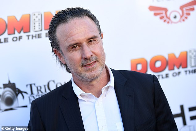 Commemorated: David Arquette has revealed how he honoured late film director Wes Craven on the set of the newest Scream movie