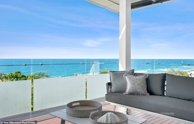 Tiffany Wilson of Tom Offermann Real Estate told Daily Mail Australia the area is known for the incredible views and surroundings