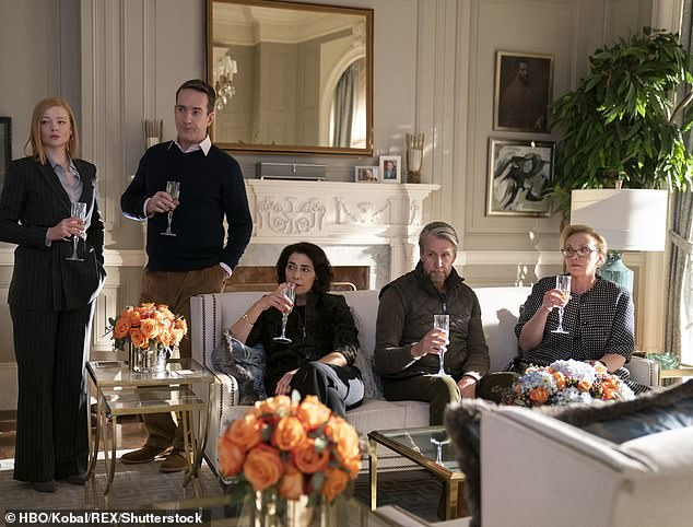Family:Succession is set within the powerful Roy family, who run a massive media conglomerate, with Shiv and her siblings Roman (Kieran Culkin), Kendall (Jeremy Strong) and Connor (Alan Ruck) all working below their father Logan (Brian Cox)