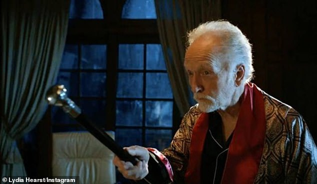Paying homage to cast: Actor Tobin Bell is among the ensemble cast
