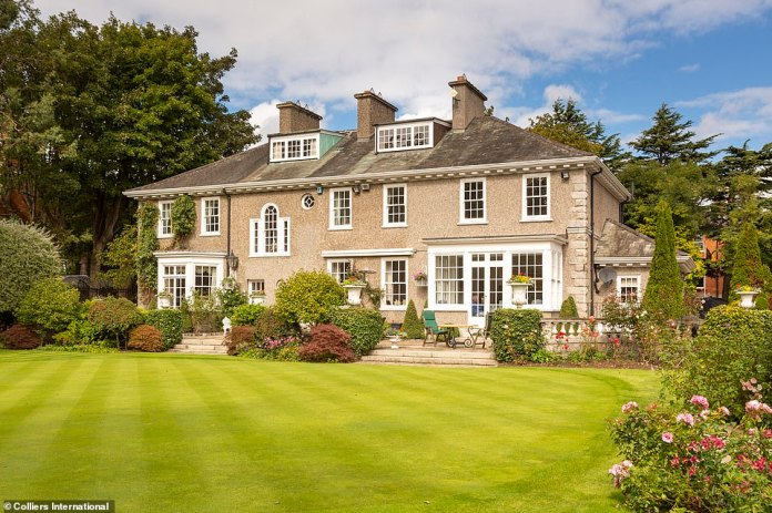 The property was designed by Irish architect Rudolf Maximilian Butler and was built circa 1913