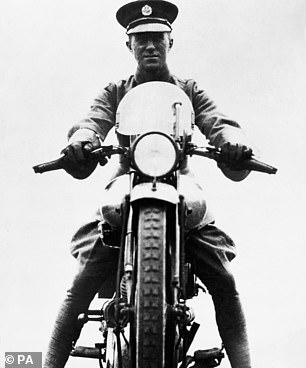 A filmmaker is to excavate the site of Lawrence of Arabia's fatal motorcycle crash in the hope of finding evidence that might prove he was murdered. The First World War hero was riding his beloved Brough Superior bike (pictured) near his home in Dorset in 1935 when he is said to have swerved to avoid two schoolboys on their bikes