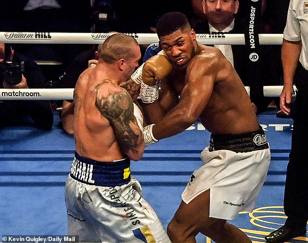 Fury had intended to fight Anthony Joshua next, before AJ's one-sided loss to Oleksandr Usyk