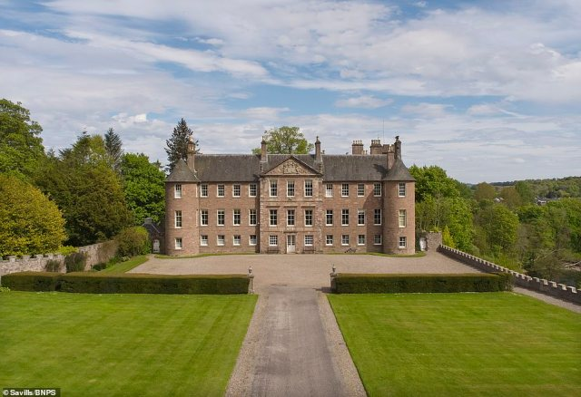 The historic Brechin Castle, one of Scotland's most significant and historic properties with a history dating back to the 13th century, has gone on the market for £3million