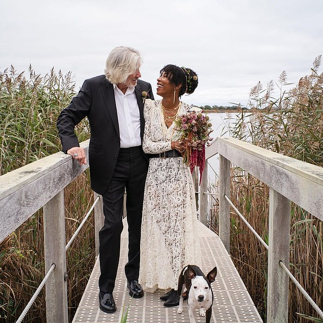 Wife number five: Pink Floyd rocker Roger Waters, 78, announced on Thursday that he has married his fifth wife, Camilla Chavis