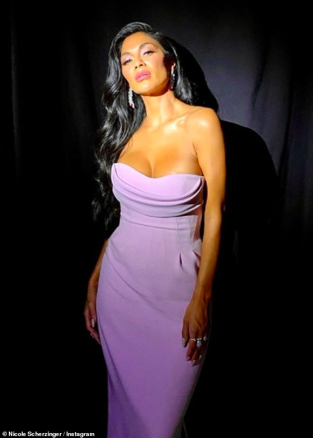 , Nicole Scherzinger wears busty lilac gown ahead of The Masked Singer US appearance, The Today News USA