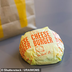 ...a McDonald's cheeseburger, with its beef and cheese, only gets a measly eight points in the system