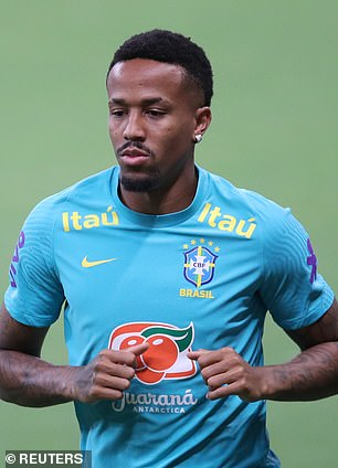 Militao limped off in Brazil's World Cup qualifier against Colombia