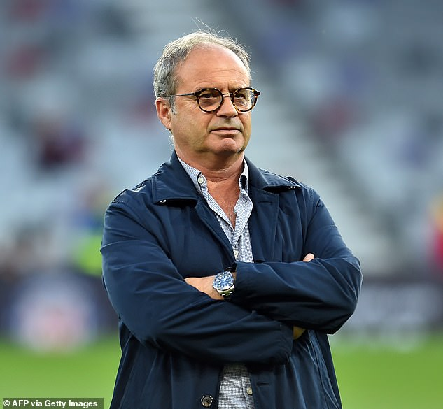 Luis Campos is on Newcastle's radar as they look to appoint a new sporting director