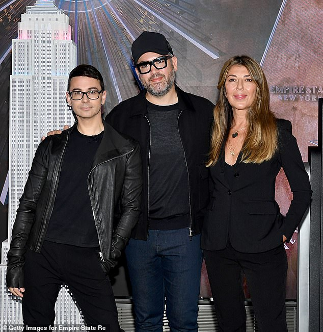 'Elaine is very emotional about what she likes and what she would wear; Nina is very Nina; Brandon is pretty tough but in a very fashion designer way,' said Christian about the judges