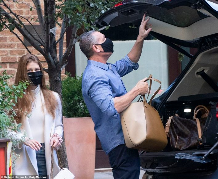 Bride-to-be! Jennifer Gates was seen leaving the Greenwich Hotel Thursday morning before heading upstate ahead of her extravagant wedding this weekend