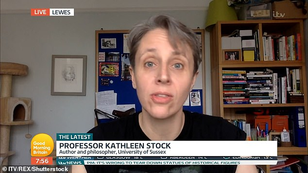 Professor Kathleen Stock asked if bookshops would consider displaying her well-liked book