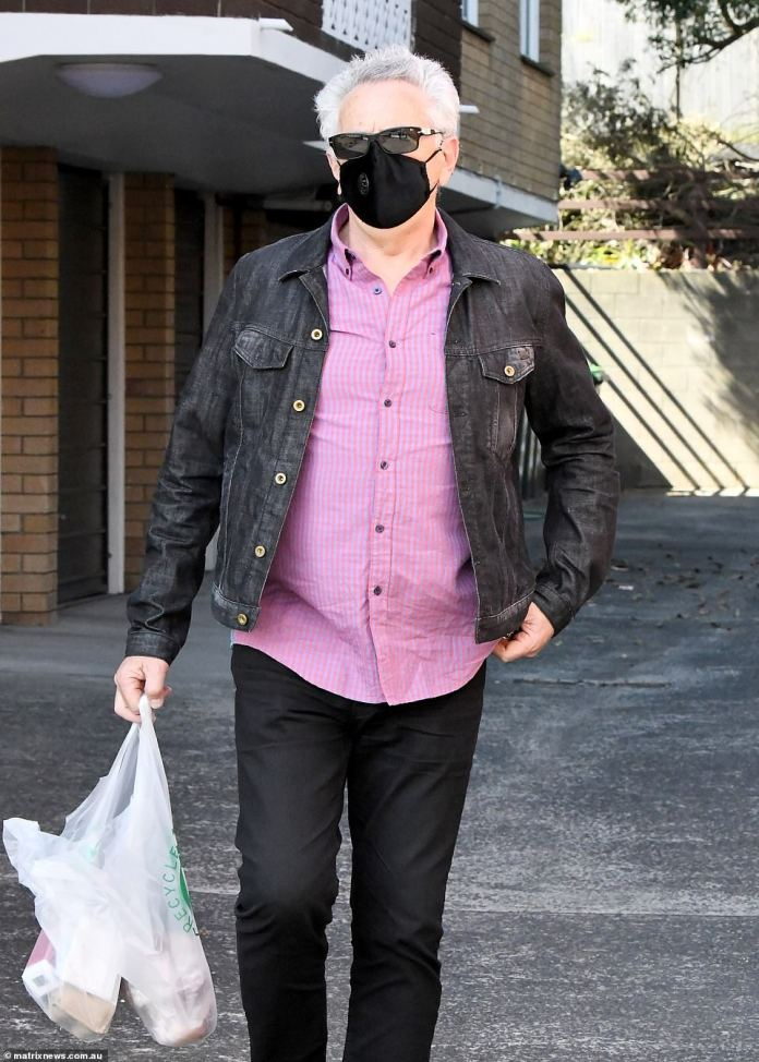 Limo driverMichael Podgoetsky, 63 (pictured), is considered to be the Delta outbreak's patient zero - unknowingly visiting the busy Westfield Bondi Junction shopping centre while infected