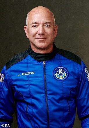 Dream:Amazon chief Bezos sent Star Trek's William Shatner into space this week