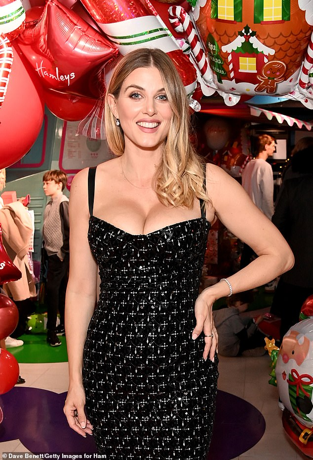 Happy Holidays!  It might not even be Halloween yet, but Hamleys was sure to kick off the Christmas spirit on Regent Street in London on Thursday, in the presence of Ashley James.