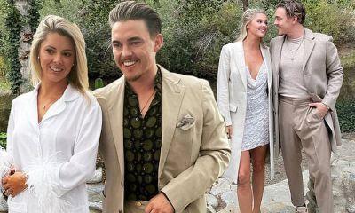 Jesse McCartney marries longtime girlfriend Katie Peterson during rustic wedding in California