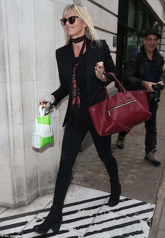 Zoe Ball Continues To Wear Her Wedding Ring After Split