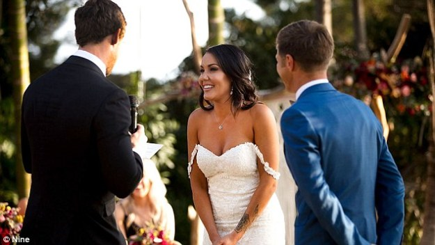 Hmm:The check claimed the Married At First Sight star's social engagement doesn't add up to the number of followers she has