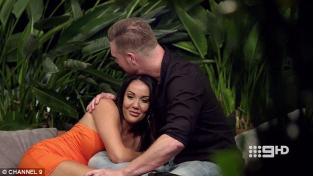 Scandal:Davina, 26, has been causing a stir on MAFS this week, leaving co-star Tracey Jewel heartbroken after sneaking around with her husband Dean Wells, 39