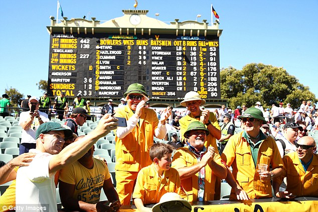 Ali criticised the Australian supporters for an unexpected disappointing Ashes turnout