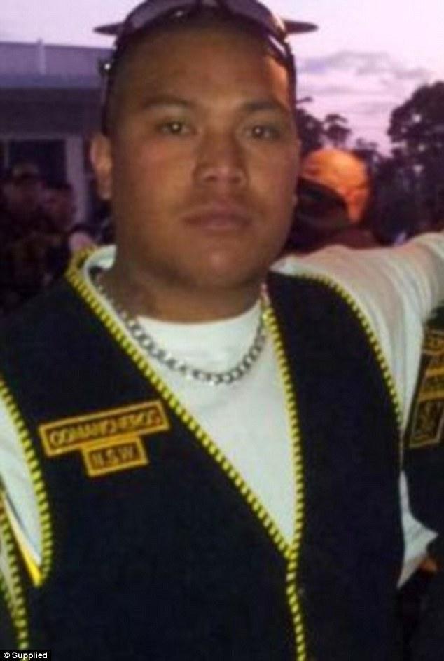 Comanchero Faalau Pisu was shot dead at a Serbian wedding reception at Rhodes in 2012