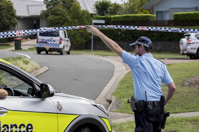 Police had tasered Scorsese, 31, before retreating and were reportedly 'in fear of their lives'