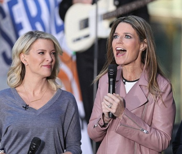 Kelly Above With Today Show Host Savannah Guthrie Last October Is Reportedly Mean To