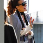 Kate Beckinsale's Chic Airport Style
