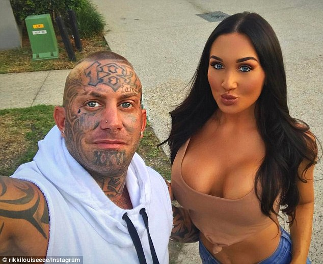 In 2016, Pechey told a Queensland courtroom he was going to pay more than $10,000 to have a number of his tattoos removed