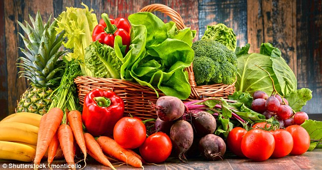 Eating fruits and vegetables slashes people's risk of depression by more than 10 percent