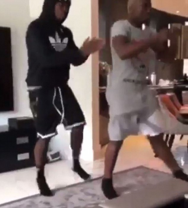 Manchester United's Paul Pogba and brother Mathias took part in an energetic dance routine