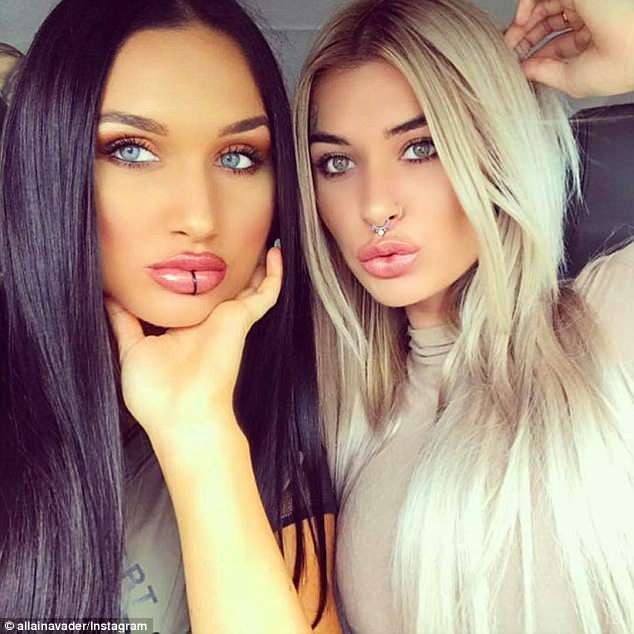 Their girlfriends are Instagram stars and cousins Allaina and Rikki-Louise Jones