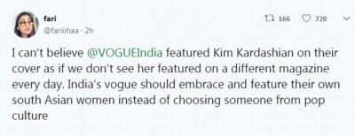 Fans Slam Vogue for Using Kim Kardashian for their India Edition