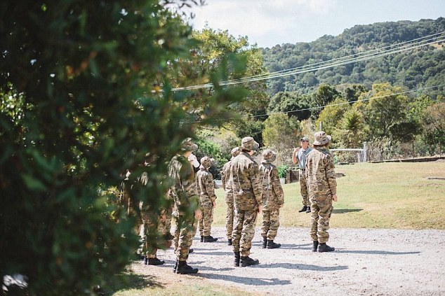 Australian teenagers are stepping away from their screens and spending nine days at a boot camp ran by Australian defence force veterans